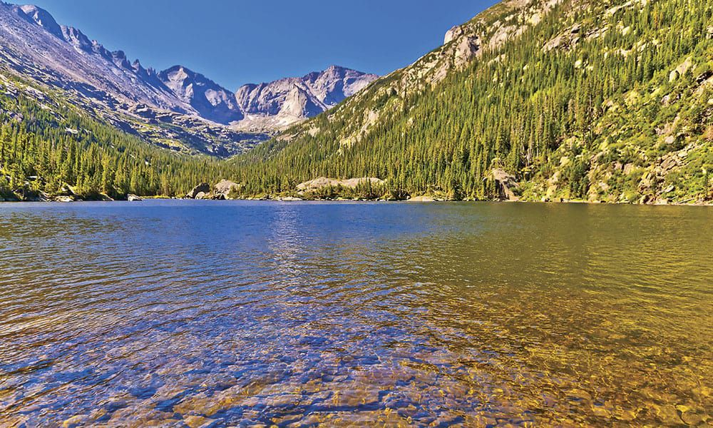 Horse camping rocky mountain national park cowgirl magazine