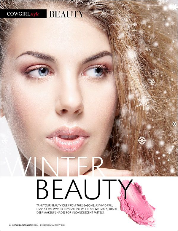 Cowgirl Winter Beauty Tips