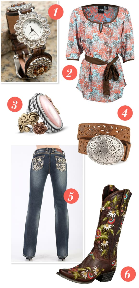 Fresh Floral Cowgirl Boots