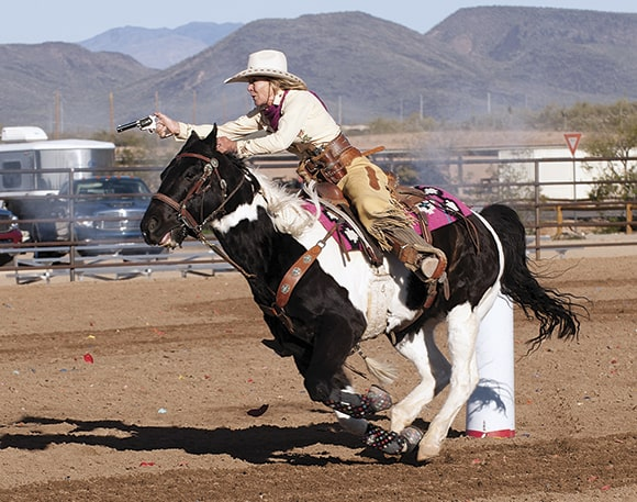 Mounted Shooting