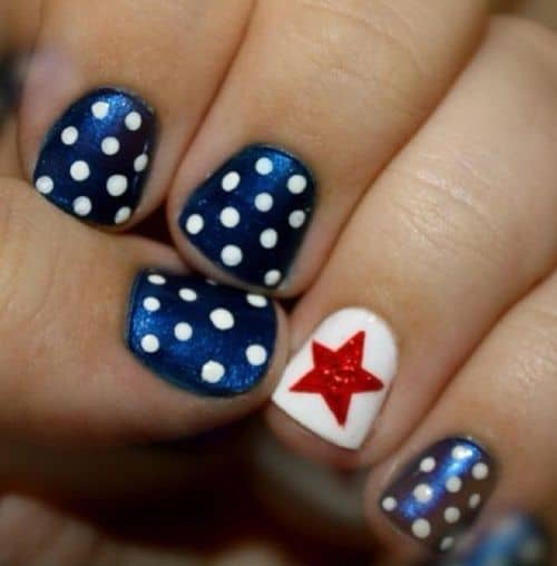Red White Blue Nail Designs Cowgirl Magazine