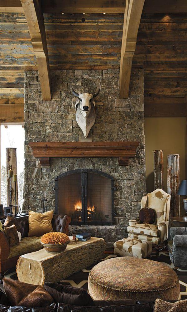 Western interiors Cowgirl Magazine