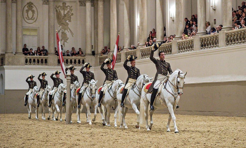 Lipizzaner Stallions Cowgirl Magazine