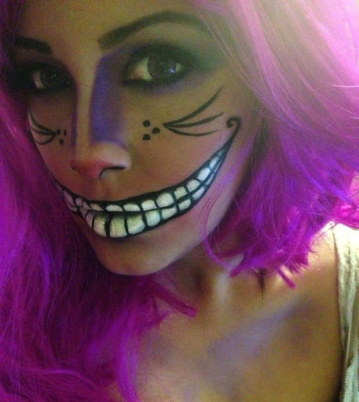 Elaborate Halloween Makeup Tutorials To Try Cowgirl Magazine - Cheshire-cat-makeup-tutorial-you