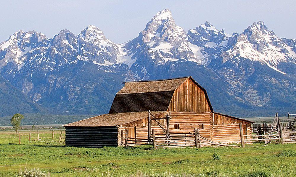 Jackson Wyoming Tetons Cowgirl Magazine