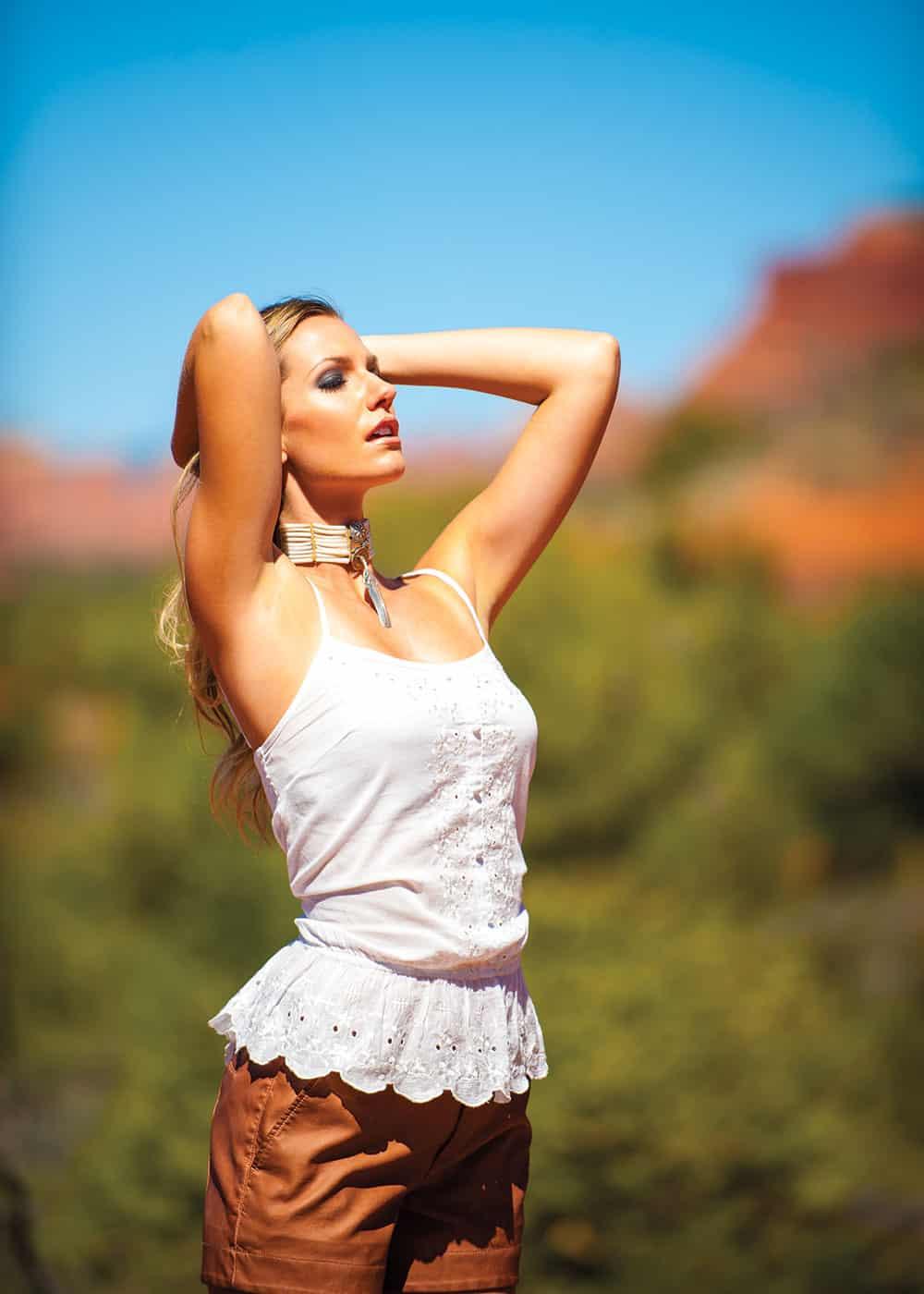sedona fashion red rocks in the desert cowgirl magazine