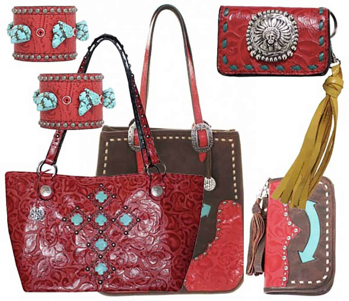 red-accessories-from-Double-J-Saddlery