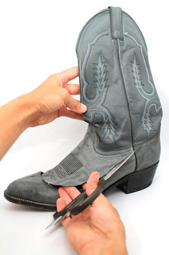Cowboy Boot Wallet DIY