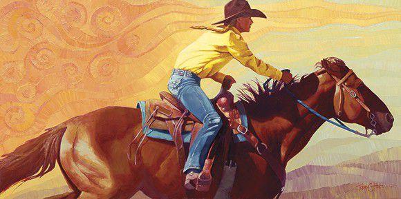 Cowgirl Rider