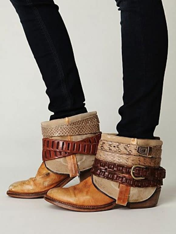 DIY cowboy boots