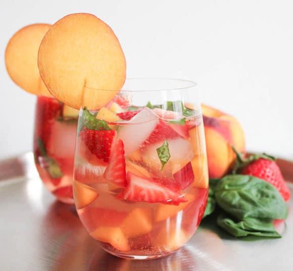 Fruity Rose Sangria