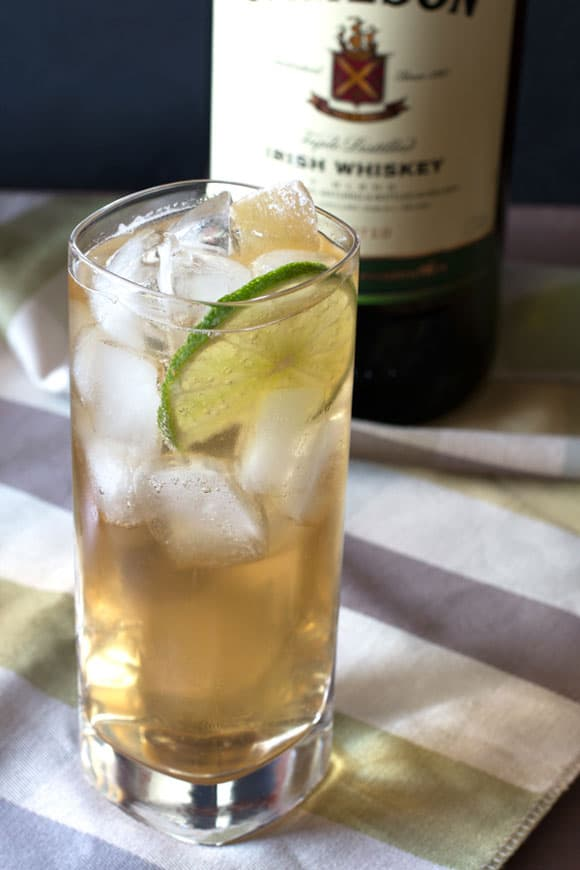 Jameson and Ginger Drink