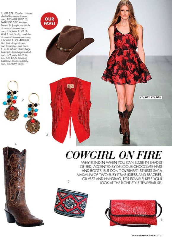 Cowgirl on Fire