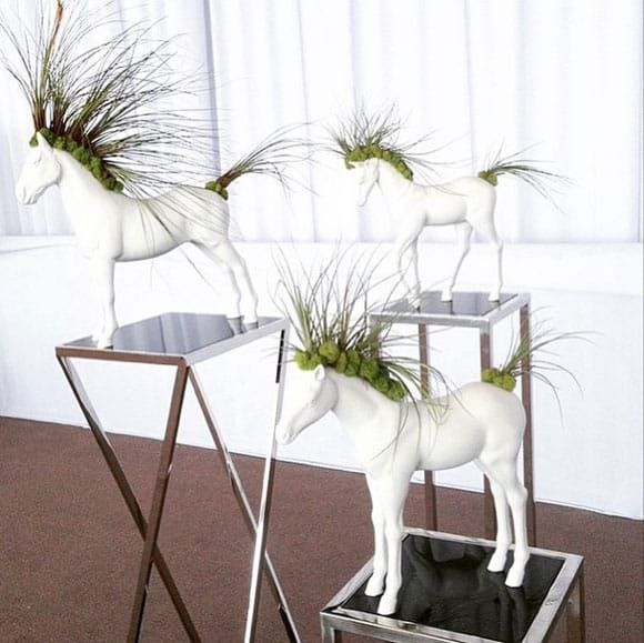 Horse Planters