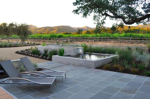 outdoor minimalist patio