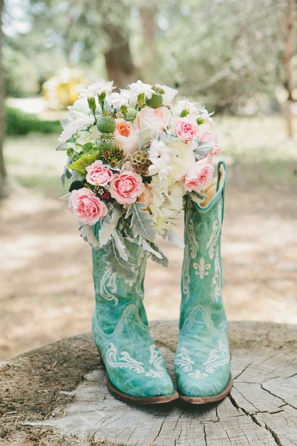 Turquoise Corral boots