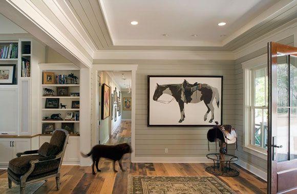 horse art and saddle
