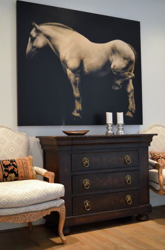 horse art in the home
