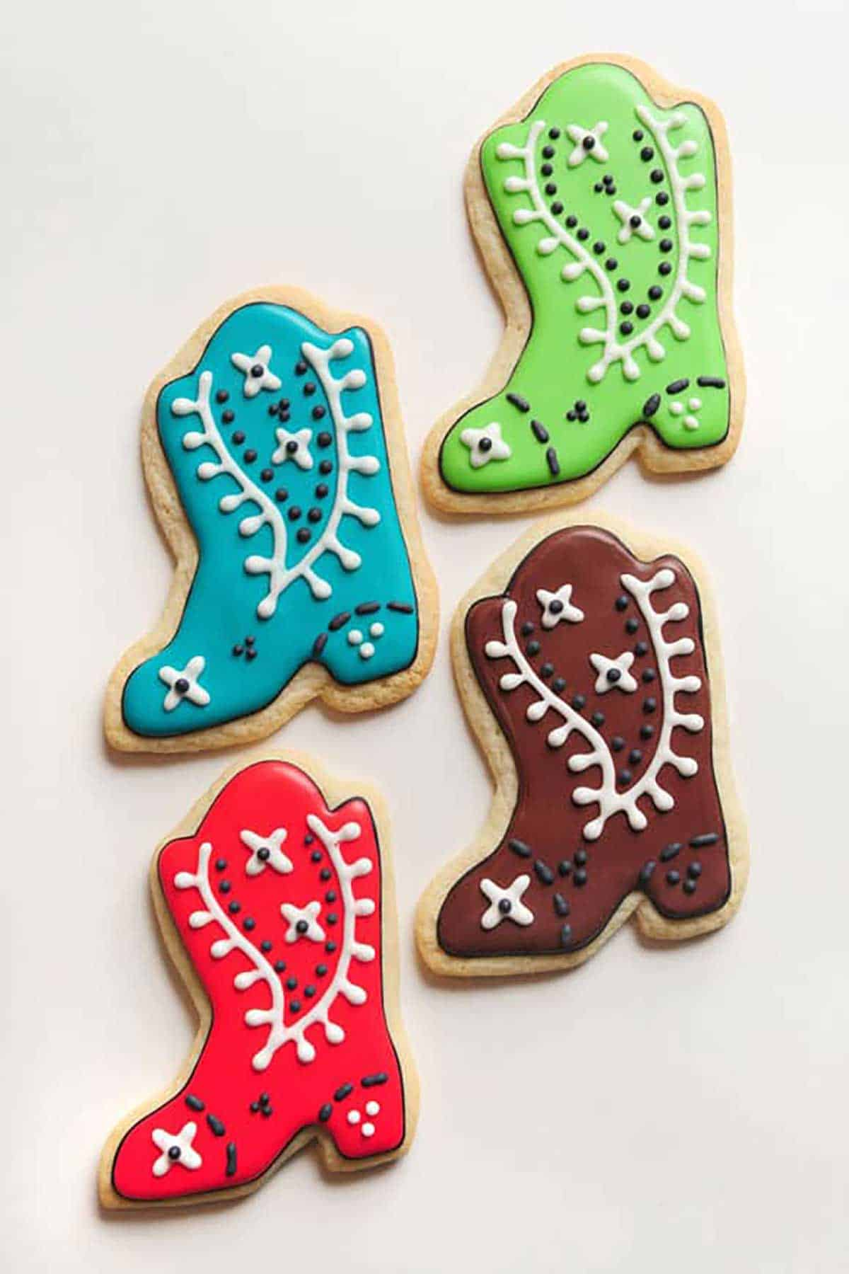 Cowboy-Boot-Sugar-Cookies
