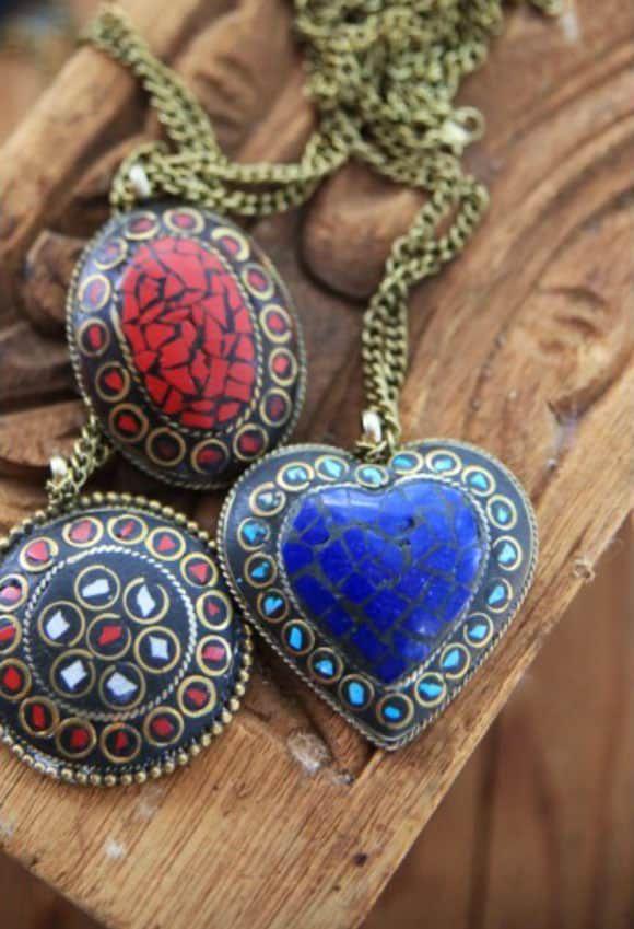 Gypsy Caravan necklaces