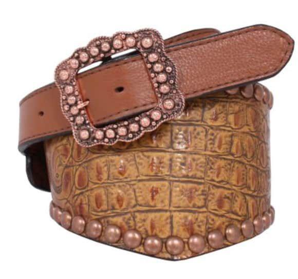tan belt by Double J Saddlery