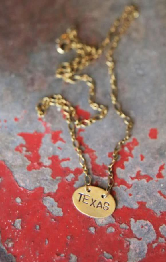 Texas Necklace from Junk Gypsy