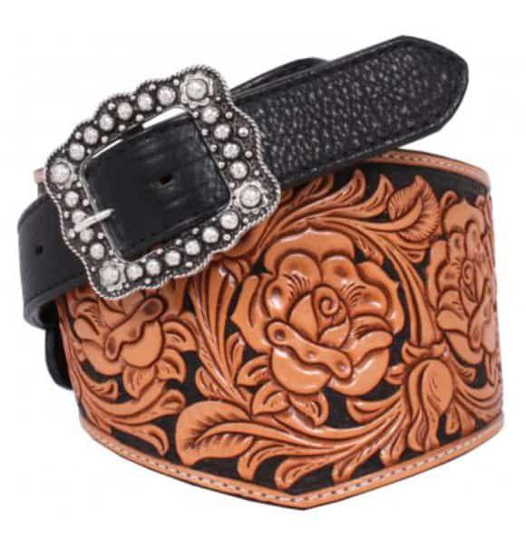 tooled belt by Double J Saddlery