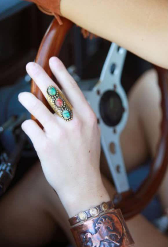 Tres Gypsy ring from Junk Gypsy