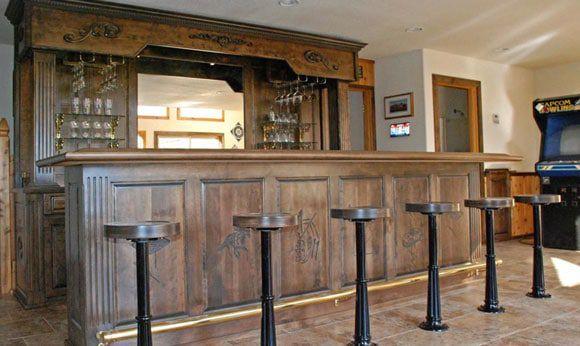 western custom bar