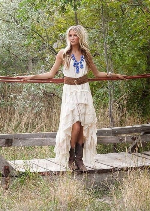 cowgirl wedding inspiration western worthy wedding dresses
