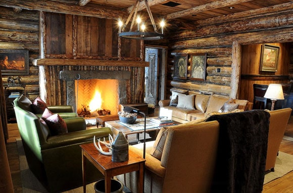 Rustic Wood Living Rooms   Cowgirl Magazine