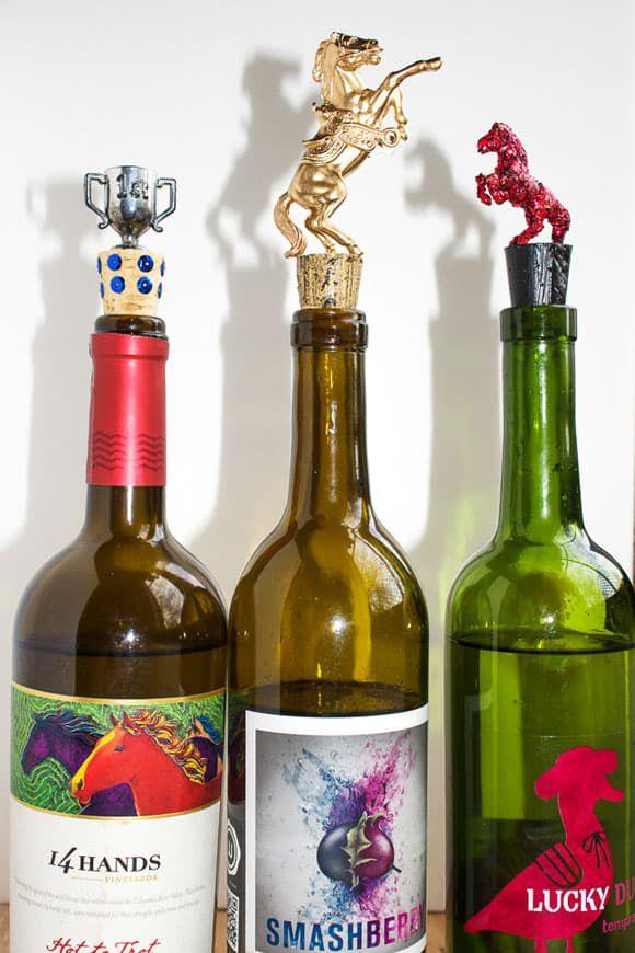 DIY Horse Wine Bottle Stoppers