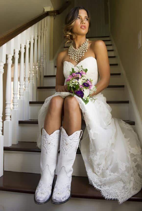 Boots for the Bride! - Cowgirl Magazine