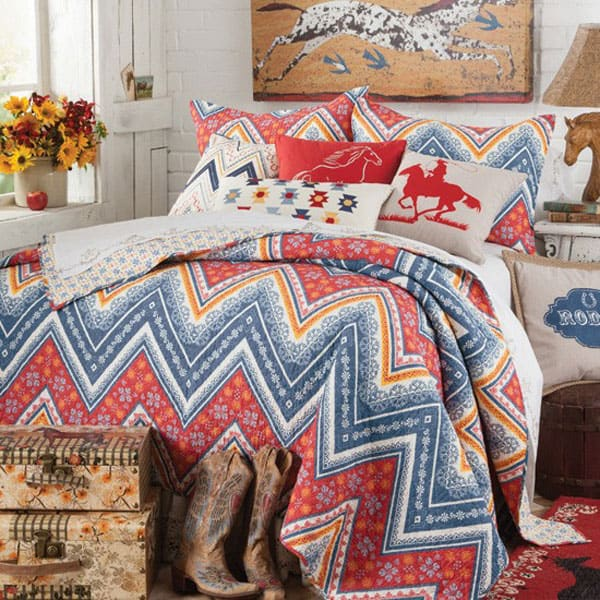 American-Cowboy-Quilted-Bedding