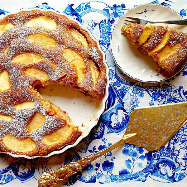 Low-fat-apple-cake