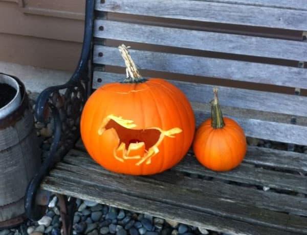 Running-Horse-Pumpkin