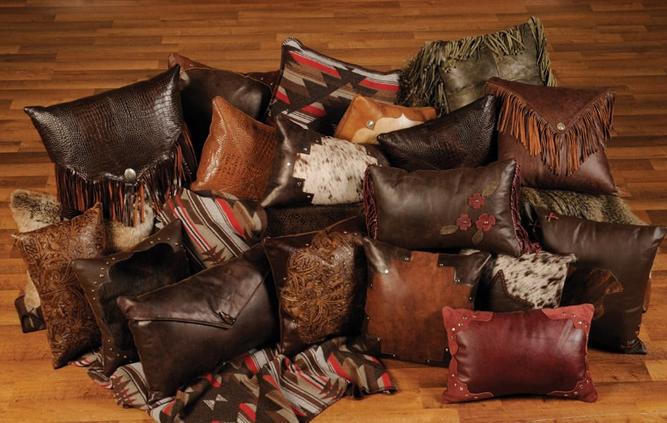 A-Collection-of-Leather-Pillows