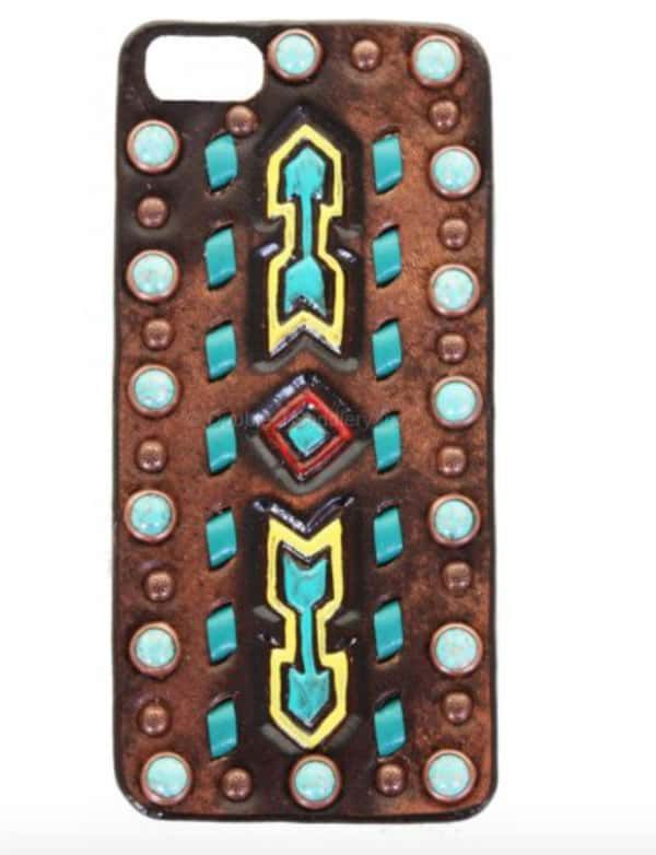 Brown-Vintage-Southwest-Arrowhead-Phone-Case