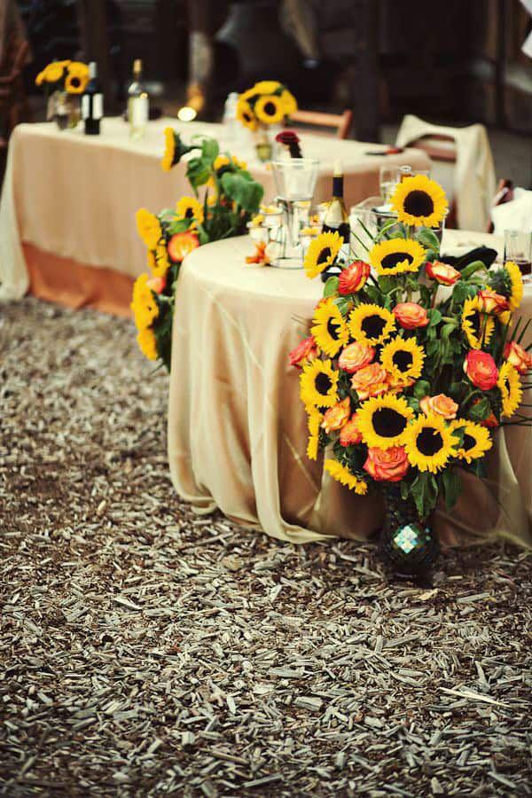Sunflower-Arrangements