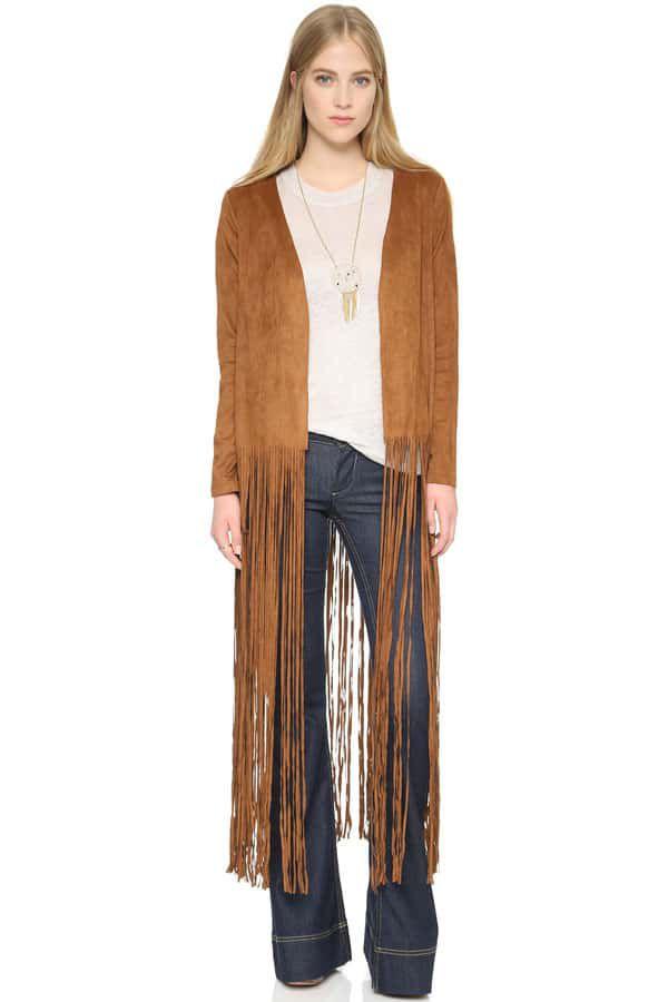 Cowgirl - fringe jacket