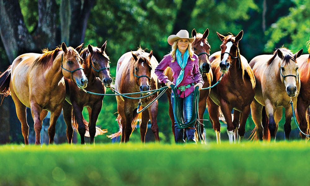 Linda Parelli Cowgirl Magazine