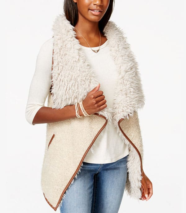 Cowgirl - shearling vest