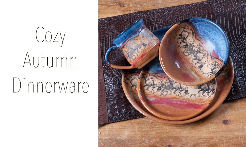 Cozy Autumn Dinnerware