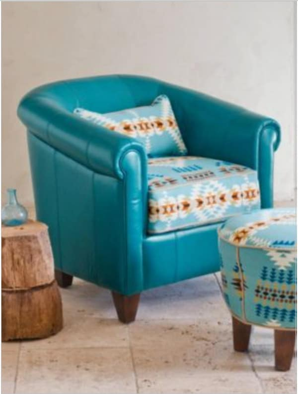 Lovely Daltry Leather Chair