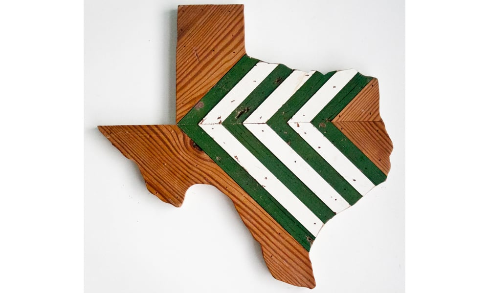 Hemlock & Heather Texas reclaimed wall hangings