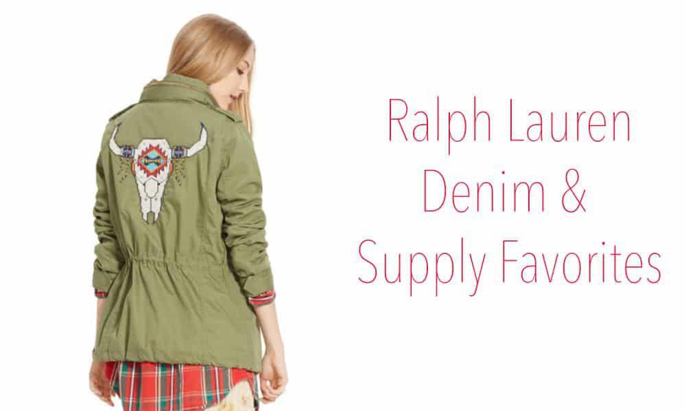 Ralph Lauren Denim & Supply