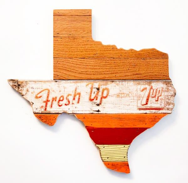 Vintage-Texas-wall-hanging