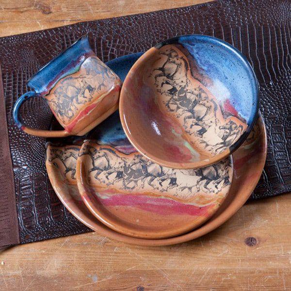 Wild horses dinnerware