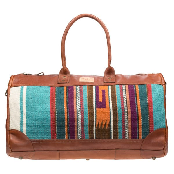 78202070d Oaxacan Duffle Bags Perfect for Winter Travel! - Cowgirl Magazine