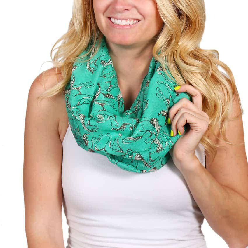 horse-print-infinity-scarf